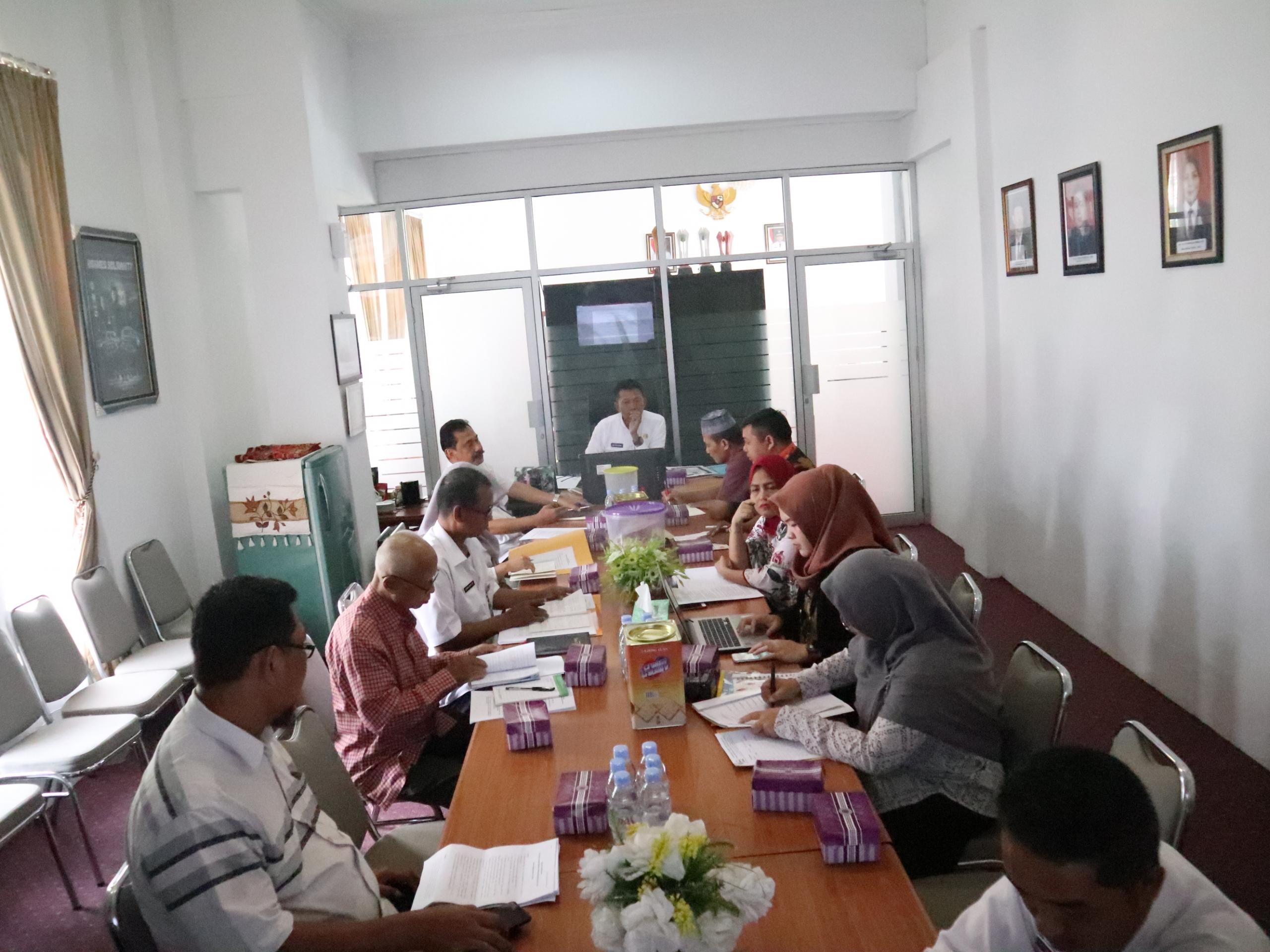 Tim Setjen dan Badan Keahlian DPR RI Kunjungi Dinas Sosial
