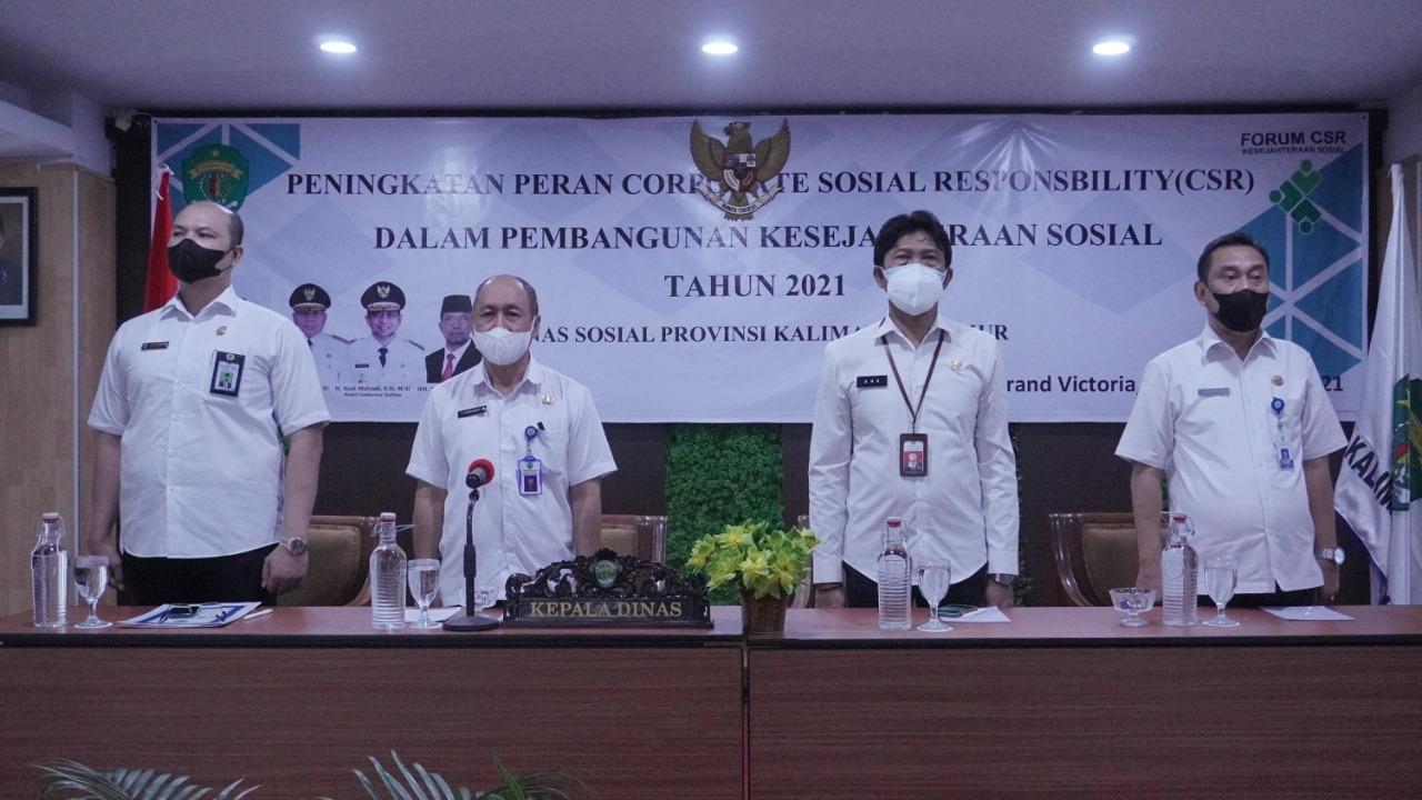 Peningkatan Peran CSR Dalam Pembangunan Kesejahteraan Sosial 2021